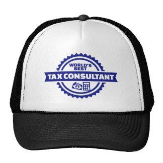 World's best tax consultant trucker hat