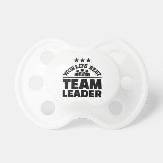 World's best team leader pacifier
