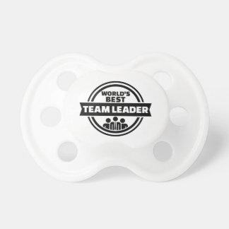 World's best team leader pacifiers