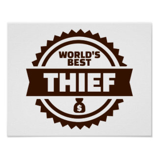 World's best thief poster