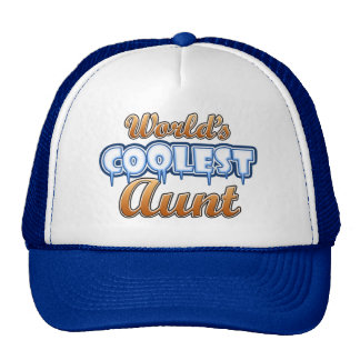 World s Coolest Aunt Trucker Hat