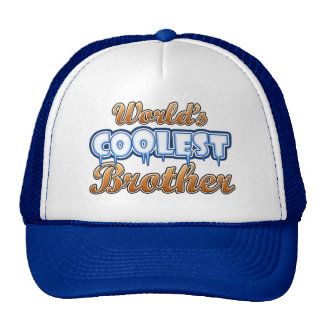 World s Coolest Brother Trucker Hat