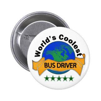 World s Coolest Bus Driver Button
