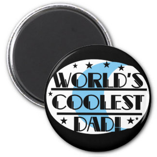 World s Coolest Dad Tshirts and Gifts Refrigerator Magnets