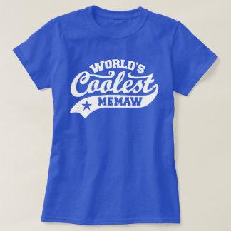 World's Coolest MeMaw T-Shirt