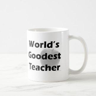 World s Goodest Teacher Mug