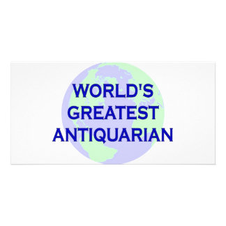 World s Greatest Antiquarian Photo Card Template