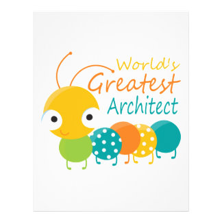 World s Greatest Architect Letterhead Template