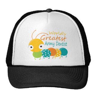 World s Greatest Army Dentist Mesh Hats
