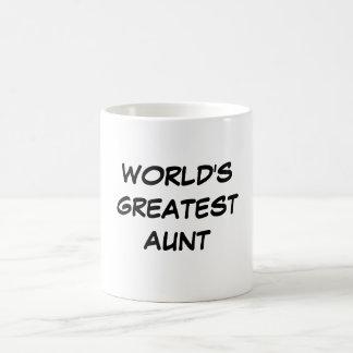 World s Greatest Aunt Mug