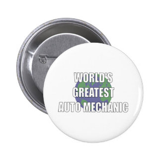 WOrld s Greatest Auto Mechanic Button