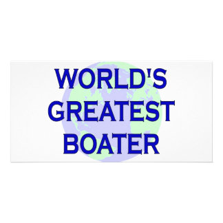 World s Greatest Boater Photo Card Template