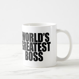 World s Greatest Boss Mug