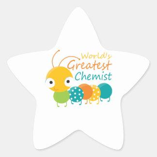 World s Greatest Chemist Sticker