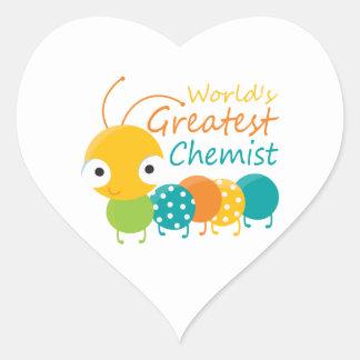 World s Greatest Chemist Stickers