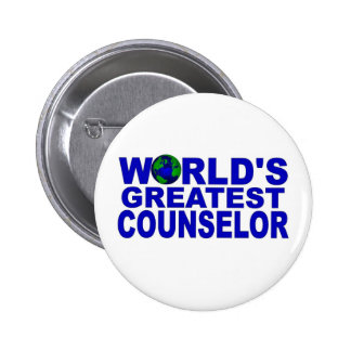 World s Greatest Counselor Buttons