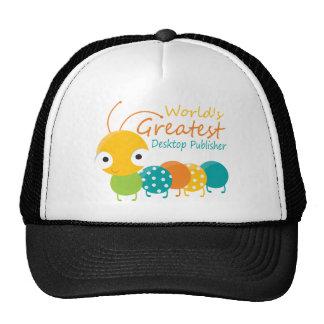 World s Greatest Desktop Publisher Trucker Hats