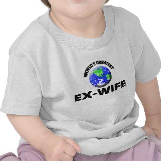 World s Greatest Ex-Wife Shirt