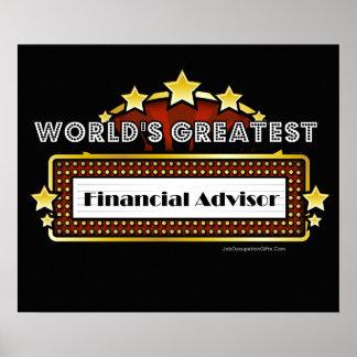 World s Greatest Financial Advisor Print
