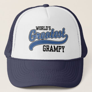 World's Greatest Grampy Trucker Hat