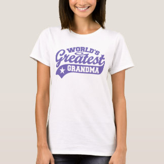 World's Greatest Grandma T-Shirt