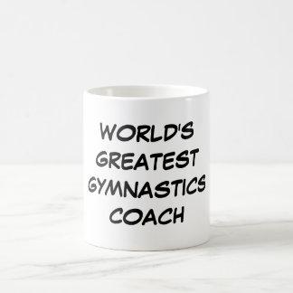 World s Greatest Gymnastics Coach Mug