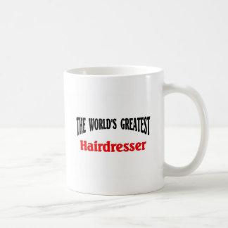 World s Greatest Hairdresser Coffee Mug