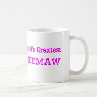 World s Greatest MeeMaw Coffee Mugs