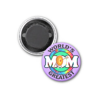 World s Greatest Mom Archery Refrigerator Magnets