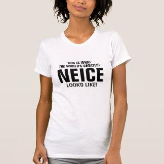 World s greatest neice looks like t shirts
