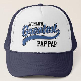 World's Greatest Pap+Pap Trucker Hat