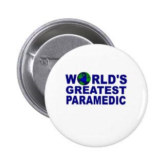 World s Greatest Paramedic Button