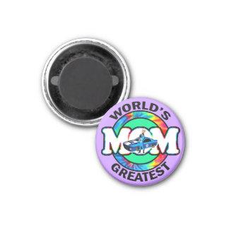 World s Greatest Racing Mom Fridge Magnets