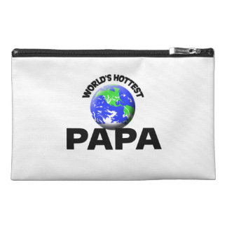 World s Hottest Papa Travel Accessory Bag