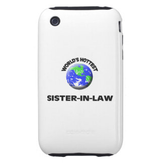 World s Hottest Sister-In-Law iPhone 3 Tough Cases