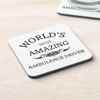 World`s most amazing Ambulance Driver Drink Coasters