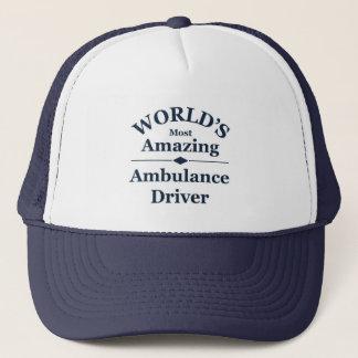 World`s most amazing Ambulance Driver Trucker Hat