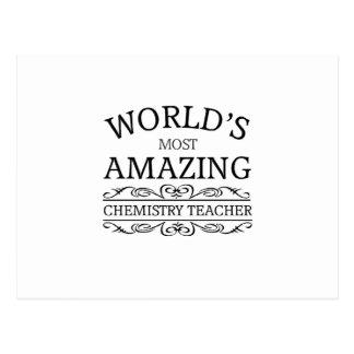 World s most amazing Chemistry Teacher Postcards