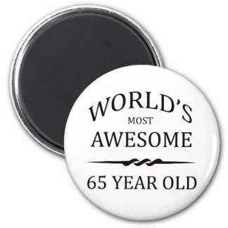 World s Most Awesome 65 Year Old Fridge Magnet