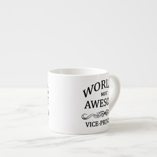 World s Most Awesome Vice-Principal Espresso Cups