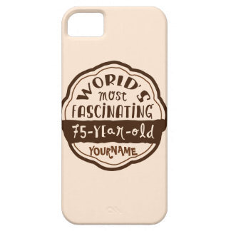 World s Most Fascinating 75-Year-Old Brown Peach iPhone 5/5S Case