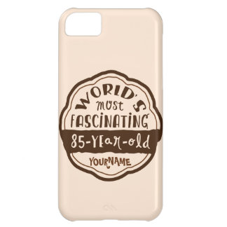 World s Most Fascinating 85-Year-Old Brown Peach iPhone 5C Cover