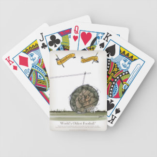 world's oldest football bicycle playing cards