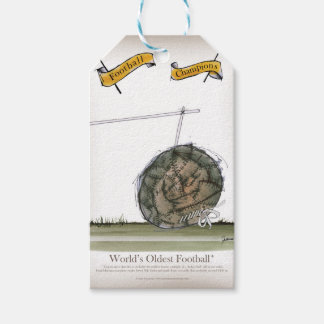 world's oldest football gift tags