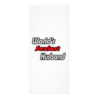 World s Sexiest Husband Rack Cards