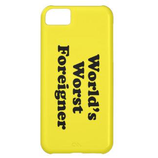 World s Worst Foreigner iPhone 5C Case