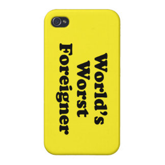 World s Worst Foreigner Covers For iPhone 4