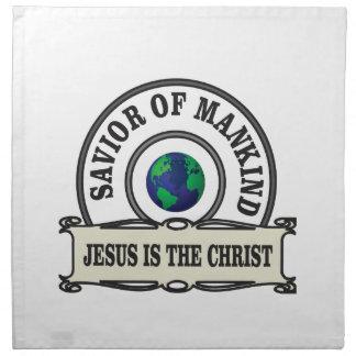 world savior napkin