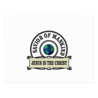 world savior postcard