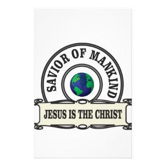 world savior stationery